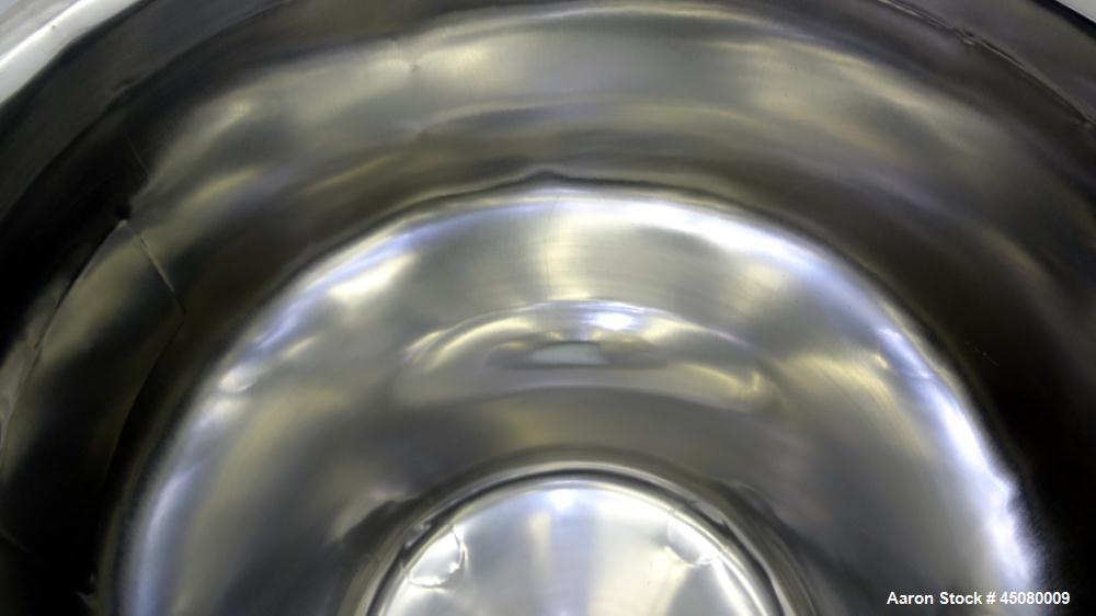 Used- 100 Liter Stainless Steel Lee Industries Pressure Tank, Model 100CBT