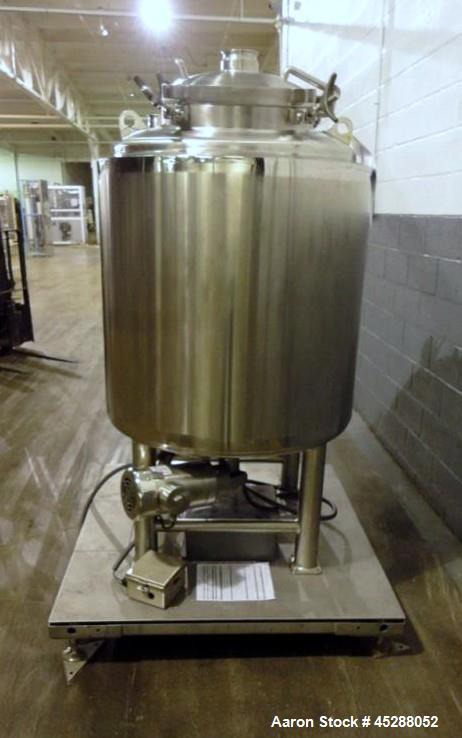 Used- 500LU Stainless Steel Lee Industries Tank