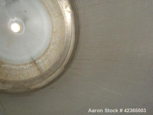 """Used- Lee Metal Products Pressure Tank, 100 gallon, model DBT, 316 stainless steel, vertical. Approximate 30"""" diameter x 34""""..."""