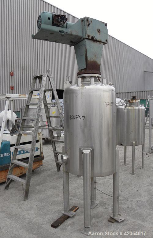 Used- 120 Gallon Stainless Steel Letsch/ Precision Stainless Tank