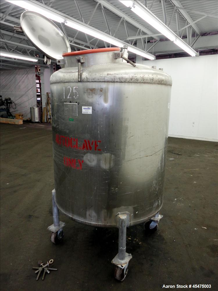 Used- 300 Gallon Stainless Steel Letsch Pressure Tank