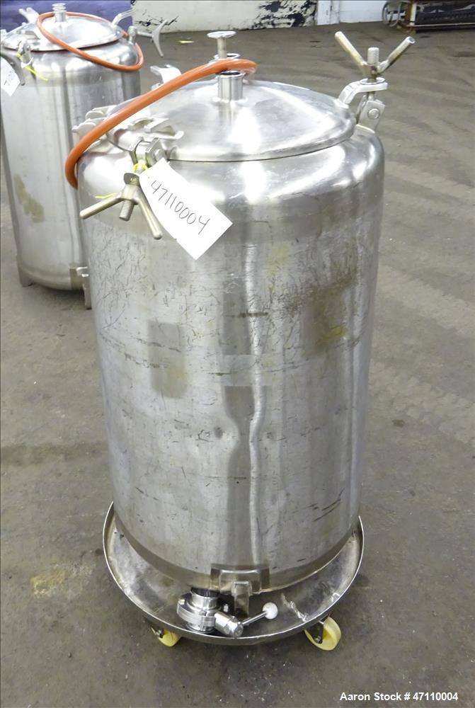 Used- Letsch Pressure Tank, 60 Gallon Capacity