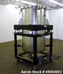 Used- Tank, Approximate 250 Gallon, 316 Stainless Steel, Vertical