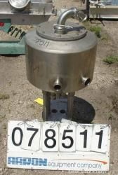 Used- 15 Gallon Stainless Steel Tank