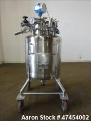 Used- Northland Stainless Pressure Tank, Approximate 55 Gallons, 316 Stainless S