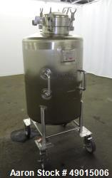 Used- Northland Stainless Tank, Approximate 120 Gallon, 316 Stainless Steel, Ver
