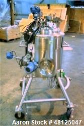 Used- Purflo Precision 100 Liter (26.4 Gallon) Mixing Vessel