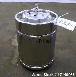 Bolz Rutten Sterile Storage Systems Pressure Tank, 13.2 Gallon (50 Liter) Capacity, 316L Stainless ...