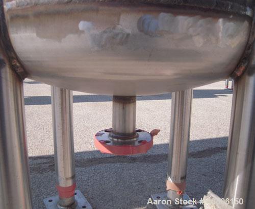 "Unused- Mueller Pressure Tank, 150 Gallon, Model ""F"", 304L stainless steel, vertical. 23 1/2"" diameter x 80"" straight side, ..."
