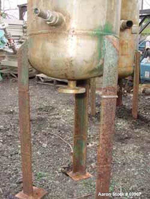 Used- 12 Gallon Stainless Steel Tank