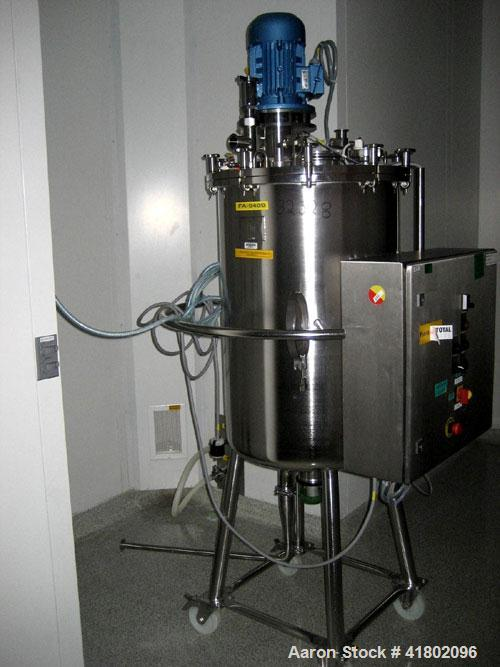 Used- 200 Liter Stainless Steel Packo Receiver