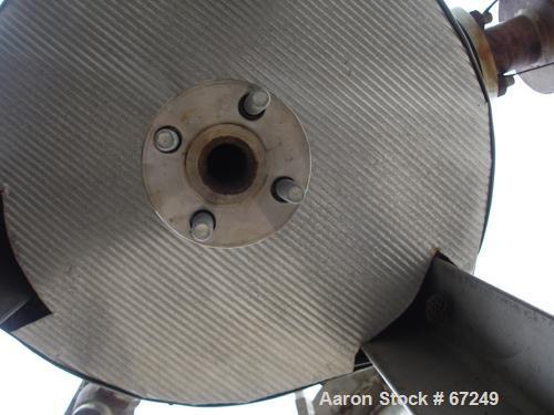 "Used- Pemberton Fabricators Pressure Tank, 20 Gallon, 304 Stainless Steel, Vertical. 16"" Diameter x 23"" straight side, dishe..."