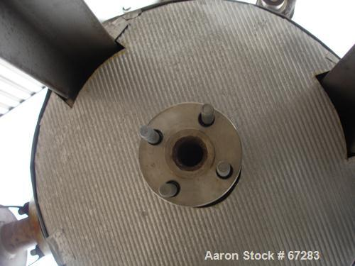 """USED: Pemberton Fabricators pressure tank, 20 gallon, 304 stainlesssteel, vertical. 16"""" diameter x 23"""" straight side. Dished..."""