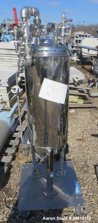Used- Pope Scientific, Alloy Products, Vessel 130 @ 300 F, Built 1964, S# 32724.001. Jacket 304, rated 40 @ 250 F