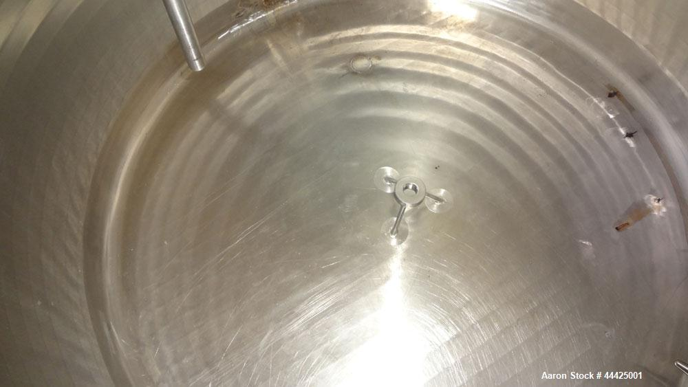 Used- 80 Gallon Stainless Steel Precision Stainless Pressure Tank