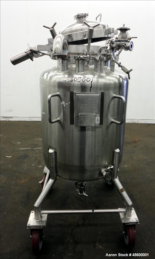 Used- Precision 53 Gallon Stainless Steel Pressure Tank