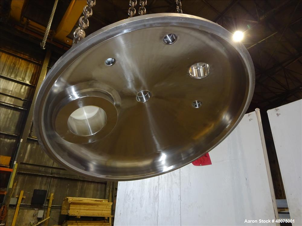 Used- Precision Stainless Agitated Pressure Tank, 400 Liter (105.66 Gallon), 316