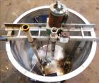 Used- Haza Mechanical Tank, 458 Gallons, 316L Stainless Steel, Vertical, 48
