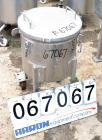 USED: Tank, 304 stainless steel, 18 gallon, 17-1/2