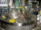 Used- Alloy Fab Reactor, 3000 Gallon, 316L Stainless Steel. 9' diameter x 5' 6