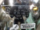 Used- Alloy Products Pressure Tank, 30 Gallon, 316L Stainless Steel, Vertical. Approximate 18