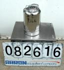 USED: Alloy Products pharmaceutical-hygienic portable pressure tank, 3 gallons, 304 stainless steel, vertical. 9