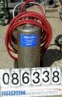 USED: Alloy Products pressure tank, 16 gallon, 304 stainless steel, vertical. 12