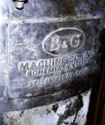 Used- 15 Gallon Stainless Steel B&G Tank, Model 25DD