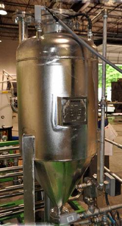 Used- Stainless Steel Buckeye Fabricating Co ASME Pressure Vessel