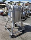 Used- DCI Receiver, 300 Liter (79.2 Gallon). 316 Stainless steel construction, approximately 30