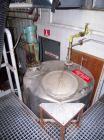 Used- Ertel Tank, 300 Gallon, Stainless steel, Vertical. 44