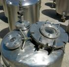 Used- Groen Pressure Tank, 60 Gallon, 316 Stainless Steel, Vertical. 24