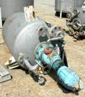 USED: Iron and Steel Contracting Co pressure tank, 190 gallon, 316 stainless steel, vertical. 36