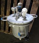 Used- Lee Industries Pressure Tank, 10 Gallon, Model 10DBT, 316 Stainless Steel, Vertical. 14
