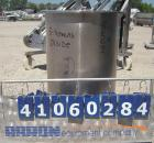 Used- Tank/Drum, 70 Gallon, 316 Stainless Steel, Vertical. 24