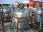 Used- Javo N.V. Alkmaar Pressure Tank, 100 gallon, stainless steel, vertical. 30