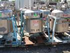 Used- Javo N.V. Alkmaar Pressure Tank, 100 gallon, stainless steel, vertical. 30