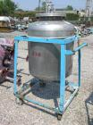 Used- Pressure Tank, 100 Gallon, Stainless Steel, Vertical. 30