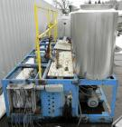 Used- Multi Tank Feed System Consisting Of: (5) 75 Gallon 304 stainless steel tanks, 24