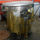 Used- Tank, 300 Gallon, Stainless Steel, Vertical. 48