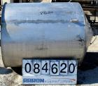 Used- Tank, 350 Gallon, 304 Stainless Steel, Vertical. 44