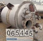 Used- Phillips Steel Fab Tank, 300 Gallon, 316L Stainless Steel, Vertical. 42
