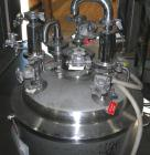 USED: Precision Stainless pressure tank, 53 gallon, 316L stainless steel, polished internal. 24