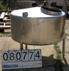 USED: St Regis tank, 175 gallon, 304 stainless steel, vertical. 48