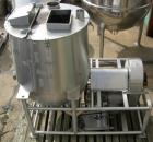USED:Technova tank, 200 gallon, 316 stainless steel, model Kraft. 38