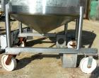 USED: Walker Tank, 100 gallon, 304 stainless steel, vertical. 42