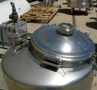 USED: Walker Stainless pressure tank, 75 gallon, 316 stainless steel, vertical. 28