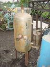 USED: Wood Industries pressure tank, 25 gallon, stainless steel, vertical. 16