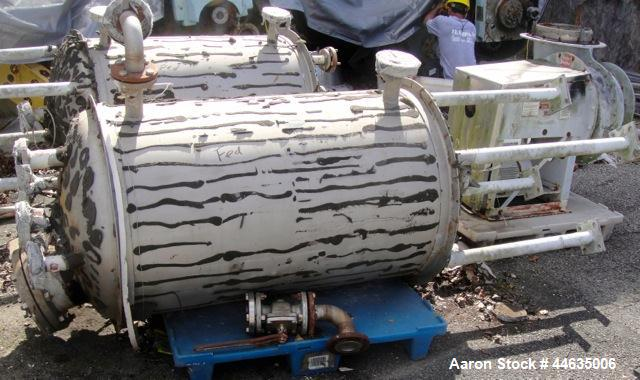 Used- 130 Gallon Stainless Steel Tolan Pressure Receiver