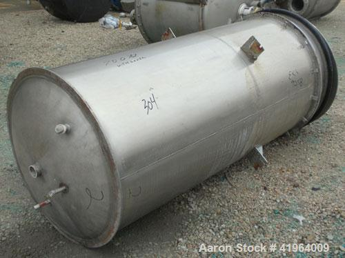 Used- 300 Gallon Stainless Steel Toronto Coppersmithing Percolator Tank